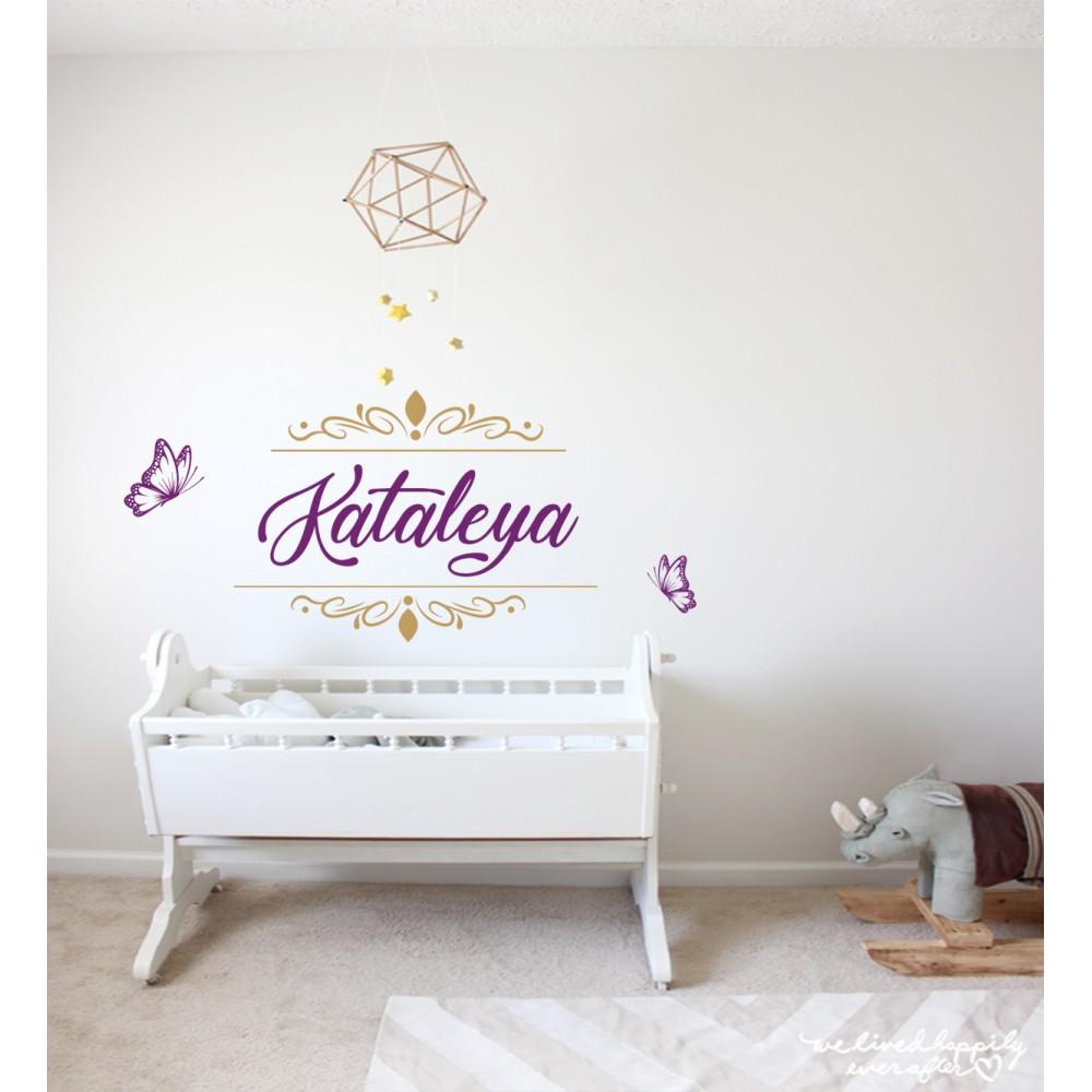 Sticker Nume personalizat Kataleya