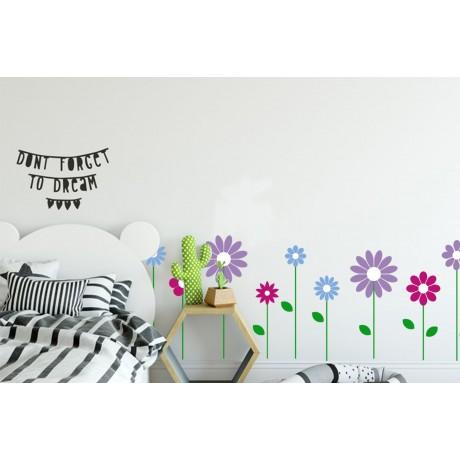 Sticker Friză-Flori