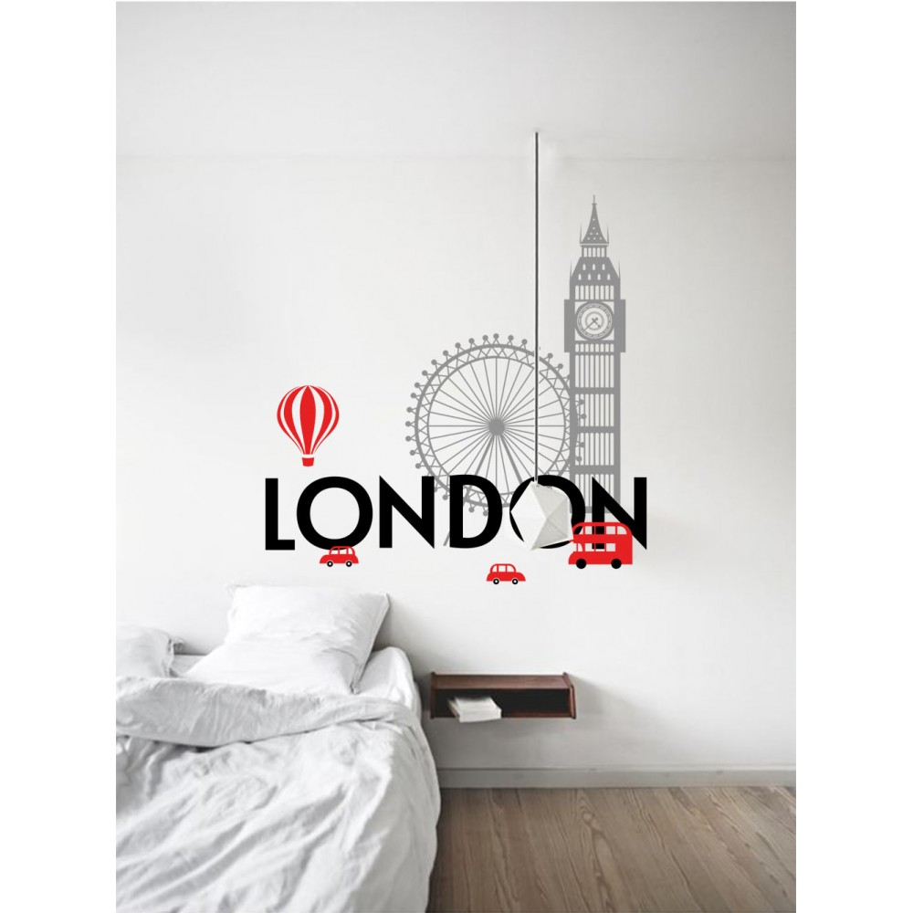 "Sticker Oraş ""Londra"""