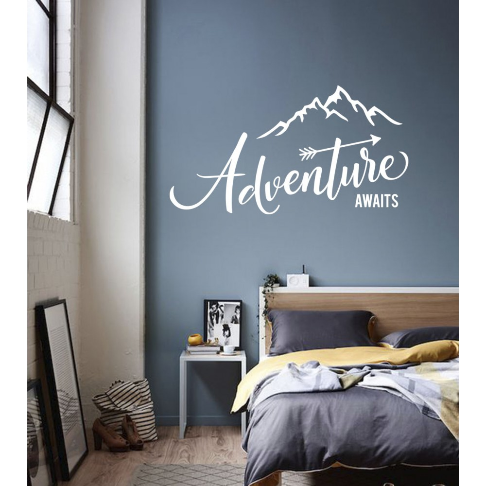 "Sticker Munte ""Adventure"""
