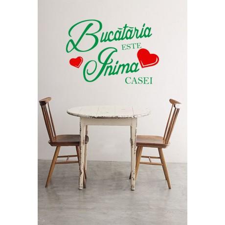 "Sticker Citat ""Bucataria Casei"""