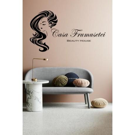 """Sticker """"Casa Frumusetii"""""""
