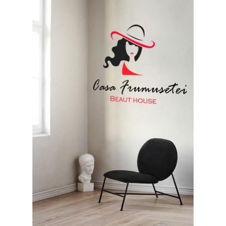 """Sticker """"Salon Frumusete"""""""