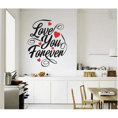 Sticker ''Love you forever''