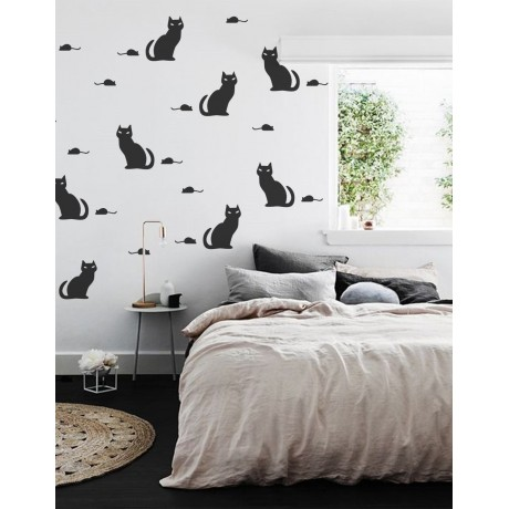 Sticker cu Pisici