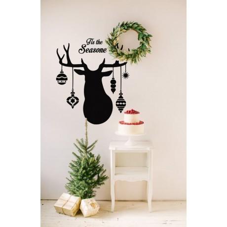 Sticker Ren de Crăciun