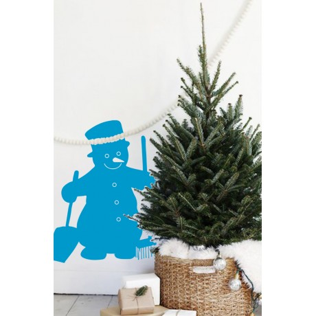 Sticker Om de zăpadă