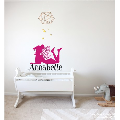 Sticker Tinkerbell+Nume
