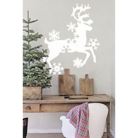 Sticker Reindeer