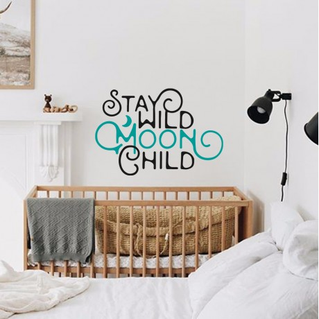 Sticker ''Stay Wild Moon Child''