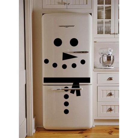 Sticker om de zapada pentru frigider sau ușa