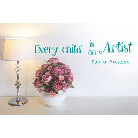 Sticker Every child is an Artist