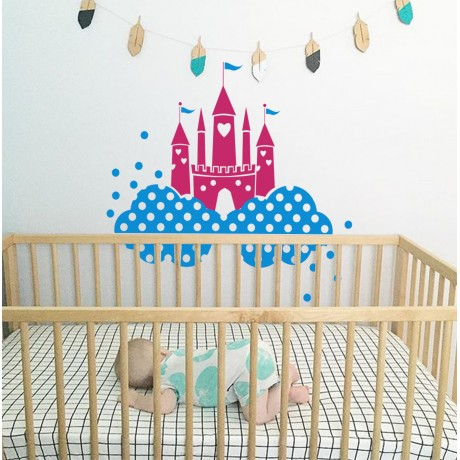 Sticker Castel Disney