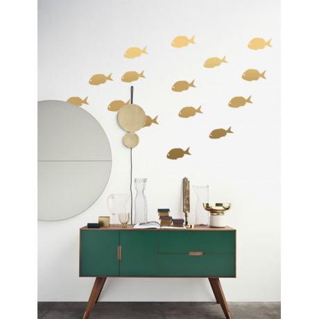 Sticker Gold fish