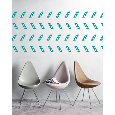Sticker Geometric linii